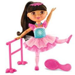 Glitter Sparkle Ballerina Dora
