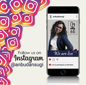 Social Media, AnbudanSugi, Instagram, Ta