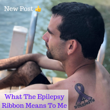 What The Epilepsy Ribbon Means To Me