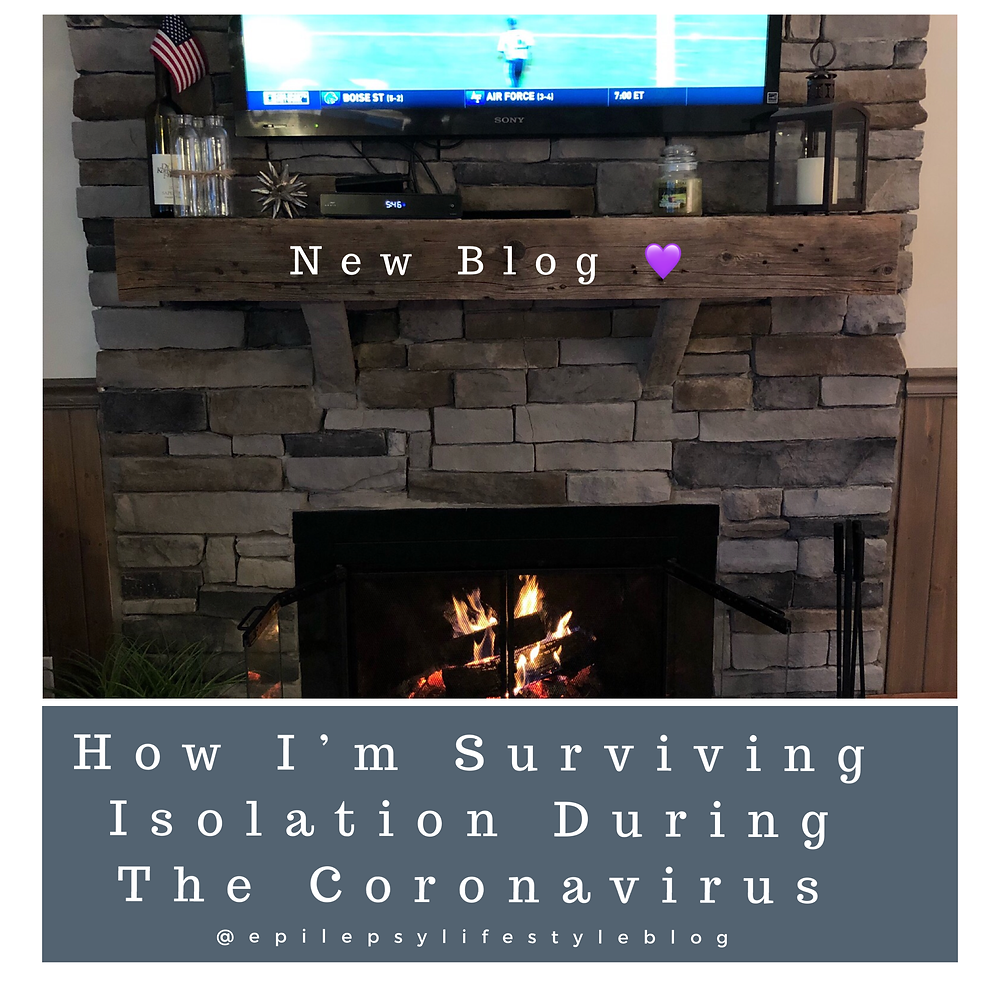 Fireplace & TV - Epilepsy Blog