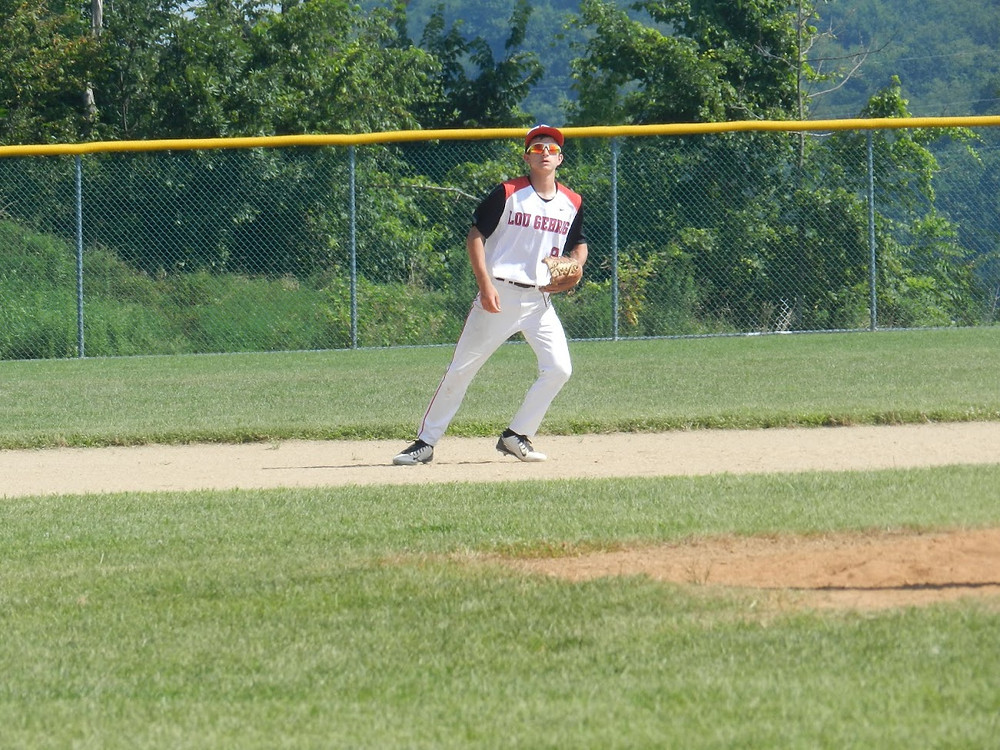 Little League Baseball Shortstop