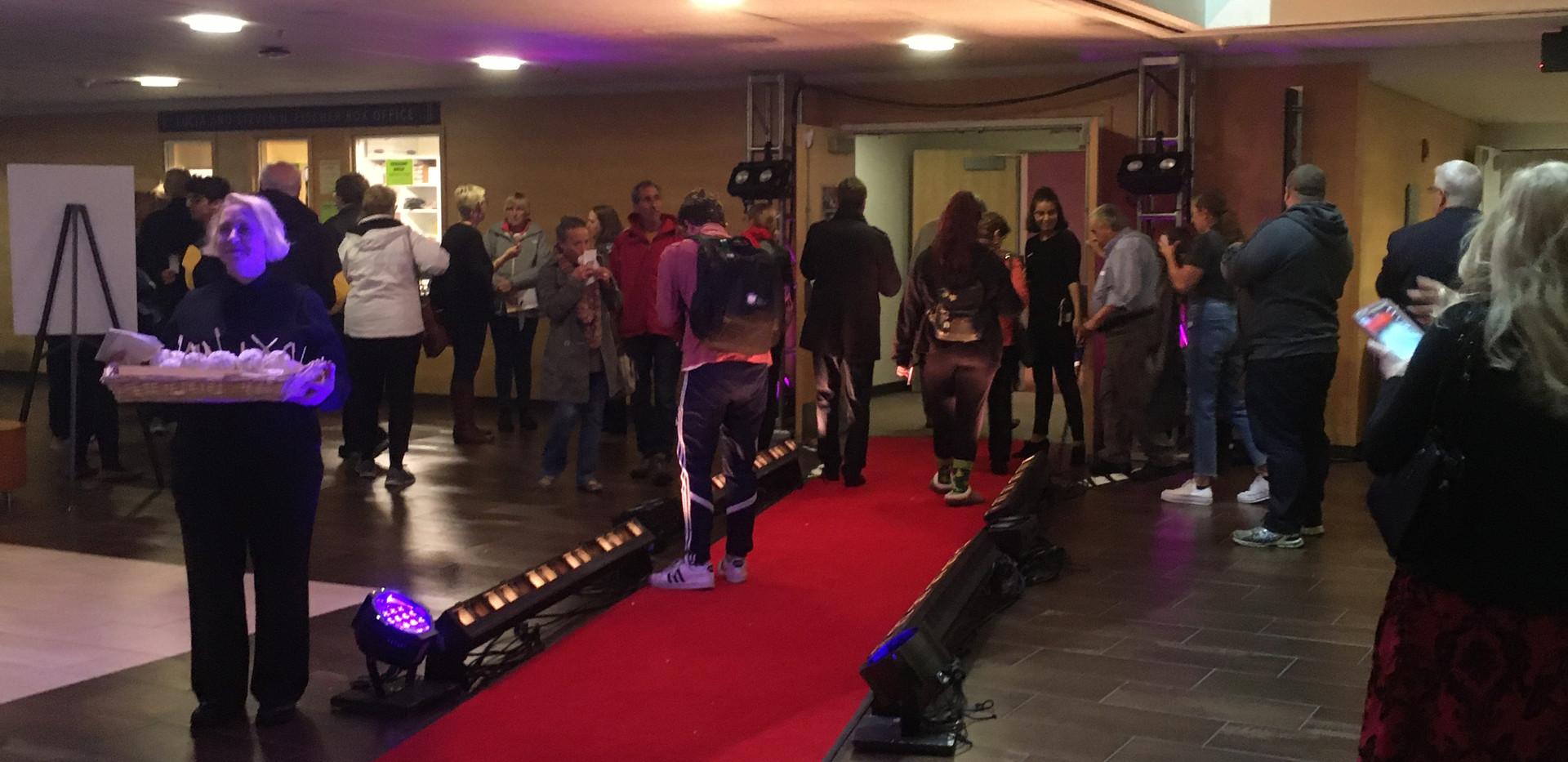 Adelphi University Red Carpet Premier