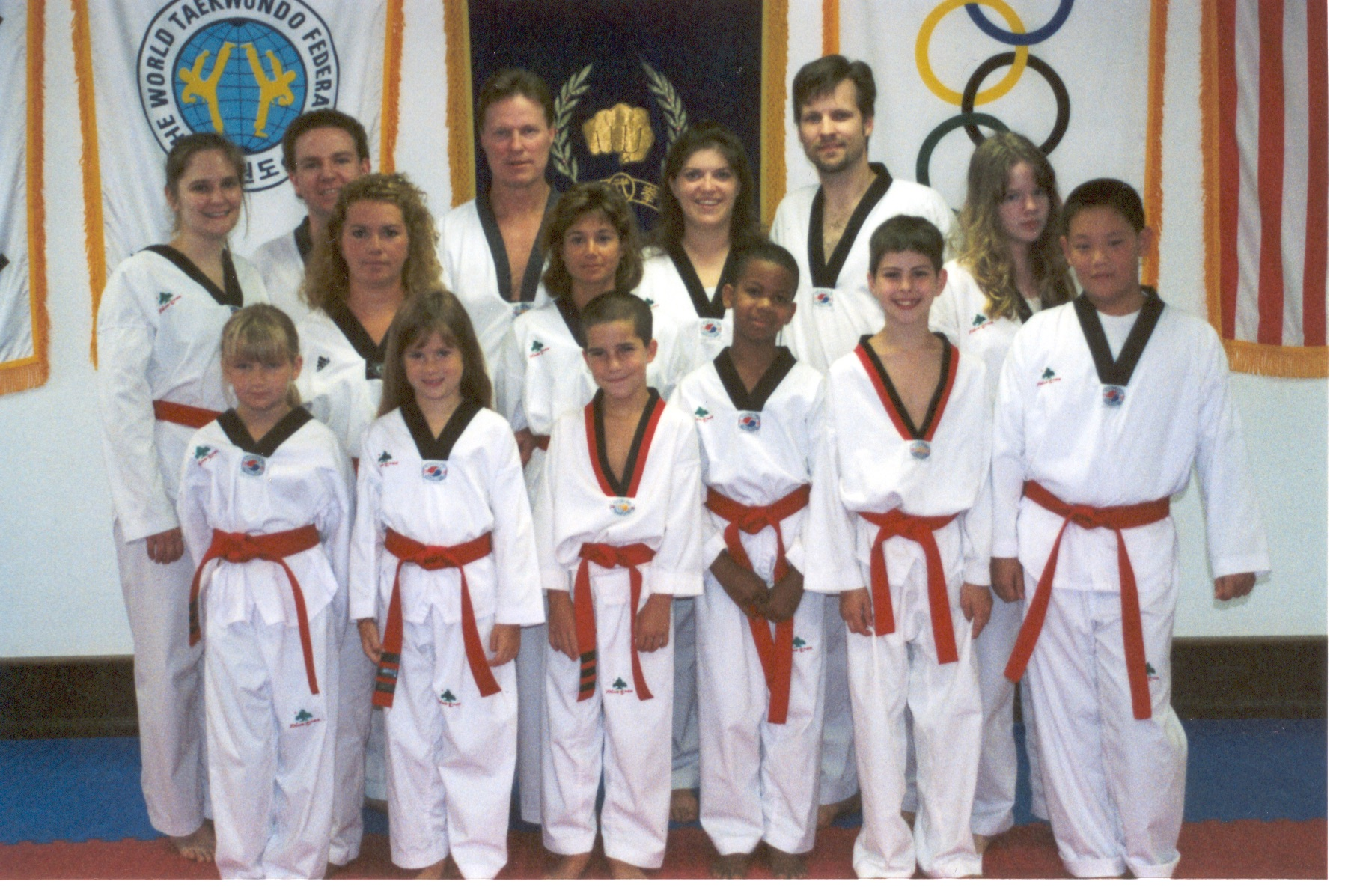 red belts page