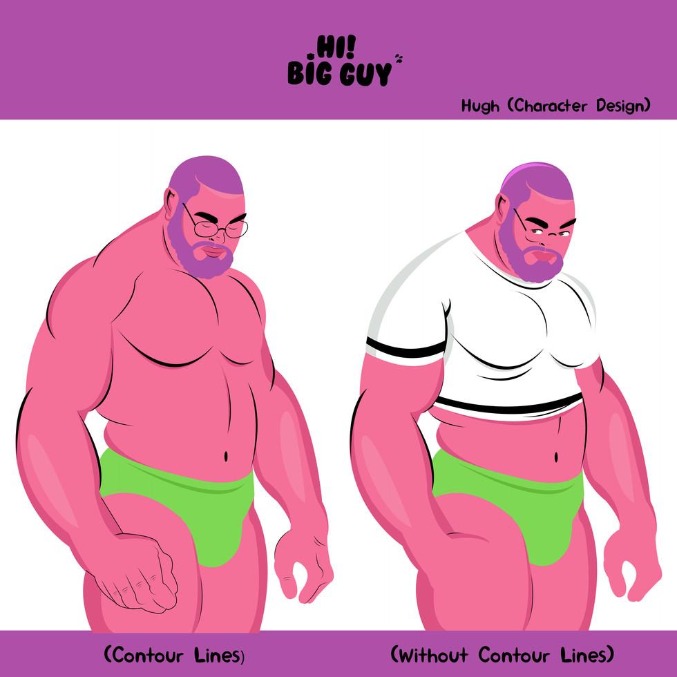 Hugh (Character Design)