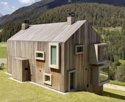 Contemporary timber self build