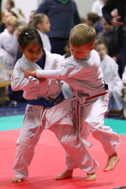 Girls and Boys compete in Judo - Fighting Fitness Judo