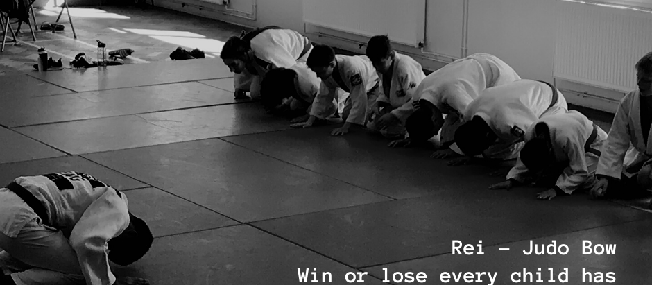The importance of Rei - Judo Bow