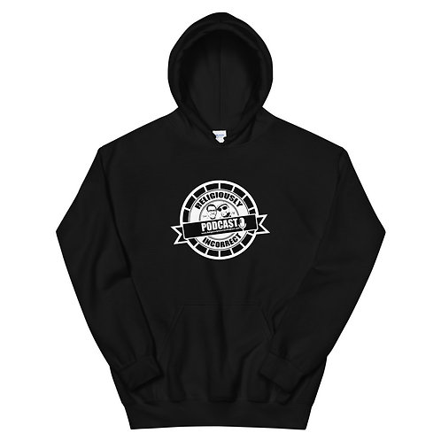 Religiously Incorrect Podcast Branded Unisex Hoodie