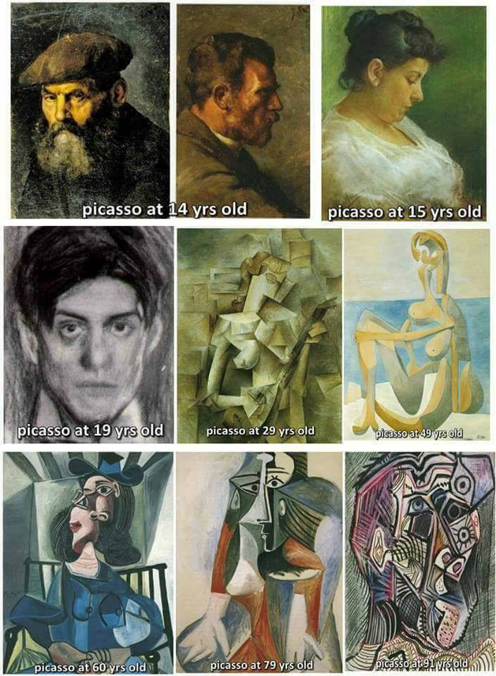 You won't look at Picasso the same way.