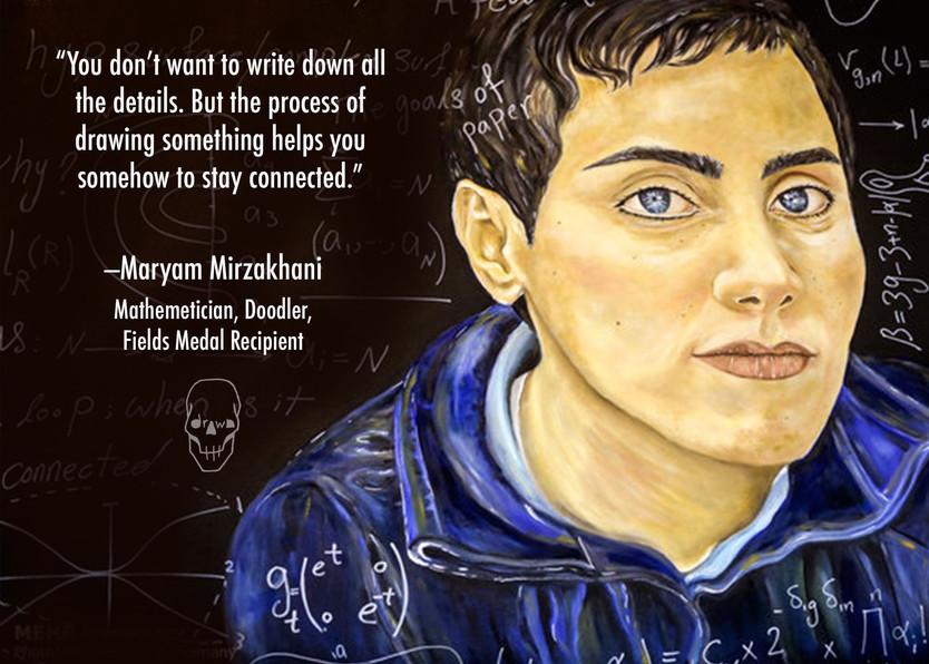 Art Perspective: Maryam Mirzakhani