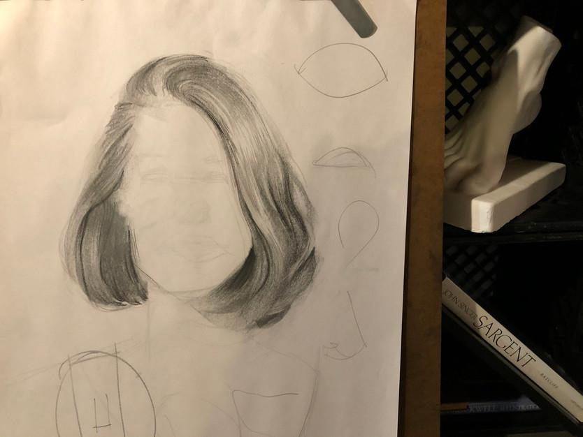 A 15-minute hair study