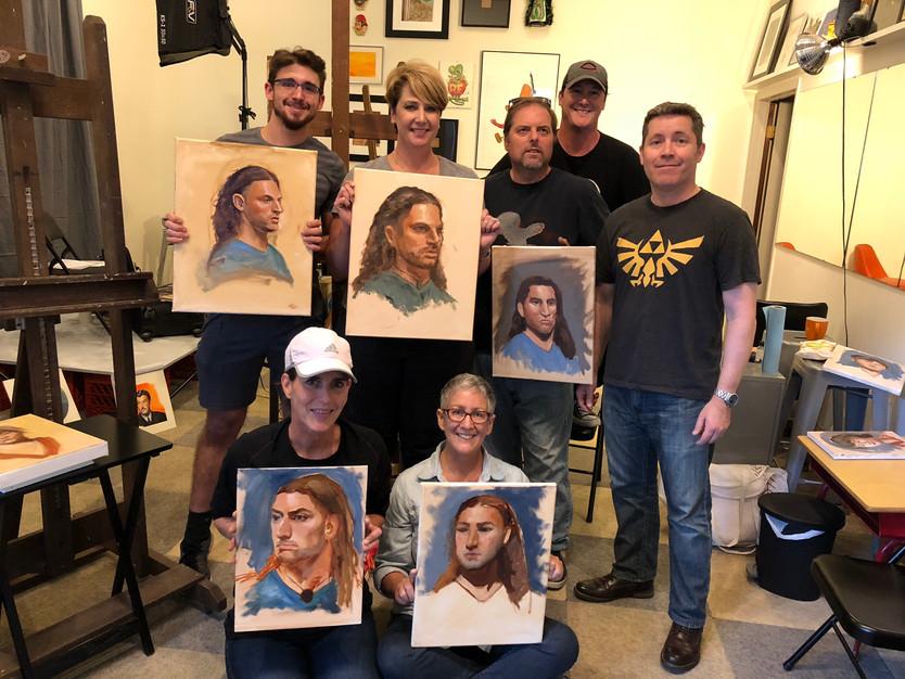 Alla Prima Portrait Painting Workshop