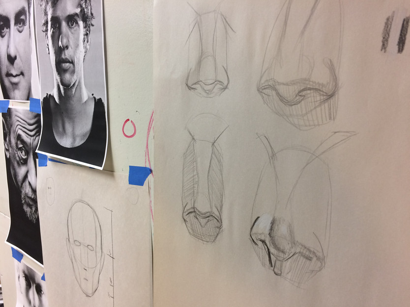 Summer Drawing Bootcamp: Class 3 - The Nose