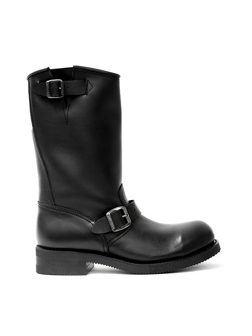 Mayura Engineer High Black Leather Boot