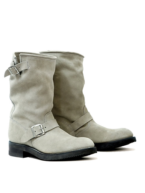 Mayura Engineer Grey Suede Boot