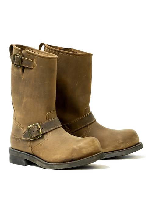 Mayura Engineer Leather Boot w/ Steel Toe