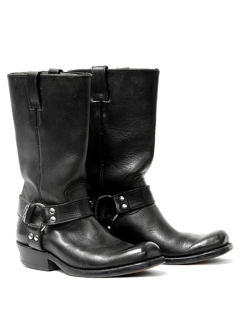 Vintage Harness Biker Boots (US 6)