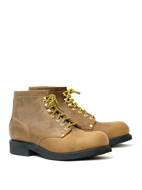 Mayura Brown Worker Boots