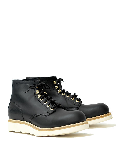 Mayura Black Work Boots Vibram