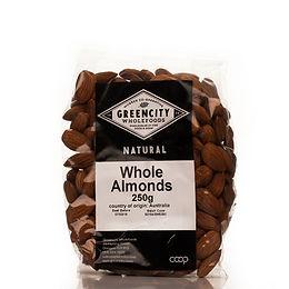 Almonds (whole, organic)