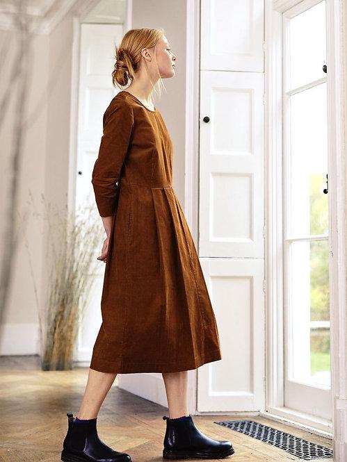 Lisket Organic Cotton Cord Dress