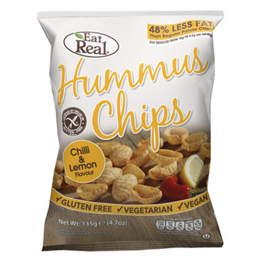 Hummus Chips - Chilli & Lemon