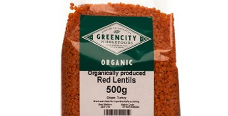 Red Lentils (organic)