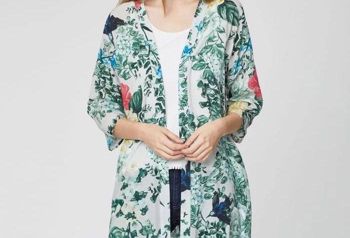 Emily-Mary Summer Organic Cotton Duster Coat