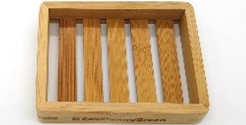 Bamboo Soap Rack