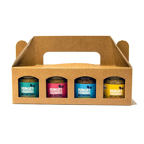 Hungry Squirrel Nut Butter Taster Pack