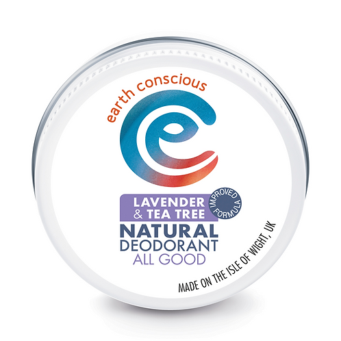 Earth Conscious - Lavender & Tea Tree Natural Deodorant