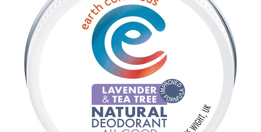 Earth Conscious - Lavender & Tea Tree Natural Deodorant