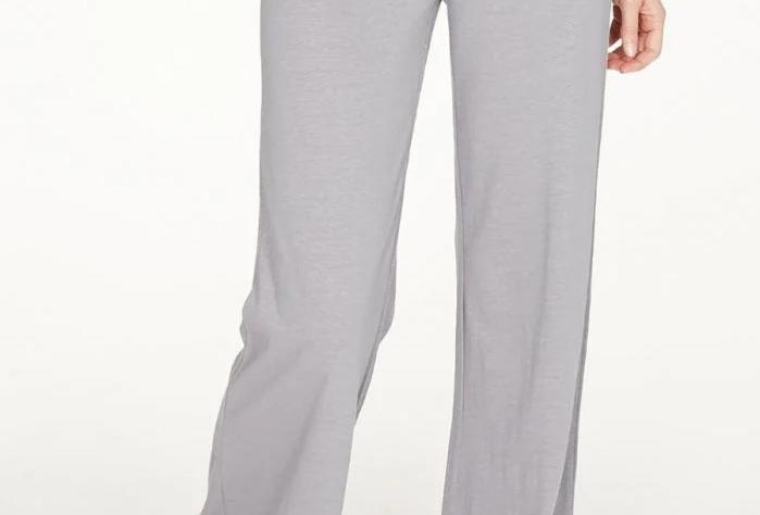 Nellie Hemp Soft Jersey Lounge Trousers In Grey