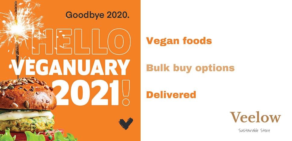 Vegan foods Bulk buy options Delivered (