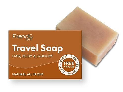 Hair, Body & Laundry - Travel Soap