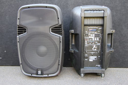 700w Battery Powered Speakers