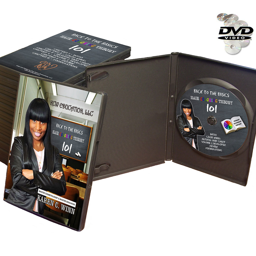 Back to basic Hair coloring DVD