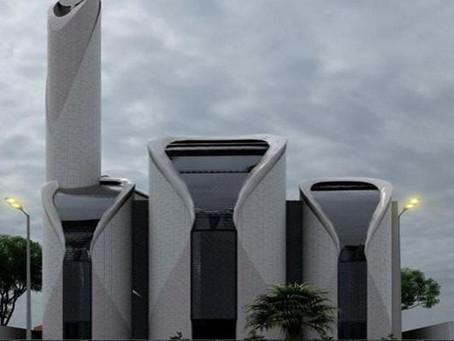 Ridwan Kamil Ikut Rancang Masjid di Gaza Palestina, Publik : Mirip PS5