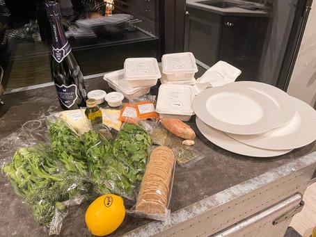 British Airways Menyediakan Makanan Fist Class Untuk Dikirim ke Rumah Pelanggan