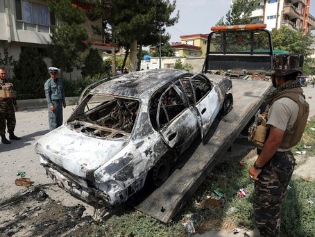 Serangan Roket Hantam Tepi Istana Presiden Afghanistan Saat Pelaksanaan Sholat Idul Adha