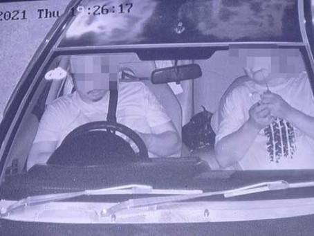 Oknum Perwira Polisi yang Terekam CCTV Sedang Nyabu di Dalam Mobil Akhirnya Tertangkap
