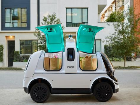 Domino Nuro Luncurkan Pengiriman Pizza Menggunakan Robot Otonom