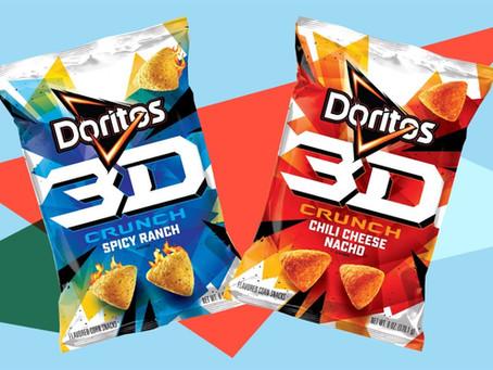 Kembali Pada Tahun 1998, Doritos Rilis 3D Crunch Ke Seluruh Dunia