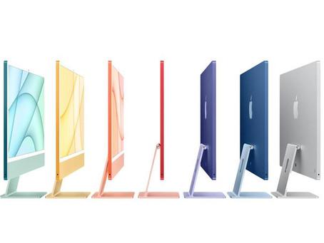 Apple Hadirkan iMac Dilengkapi Chip M1 Dengan 7 Warna Terbaru