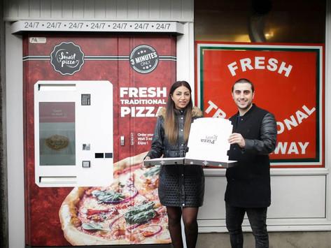 Pizza Vending Machine Sukses di UK Setelah Bangkrut Karena Pandemi