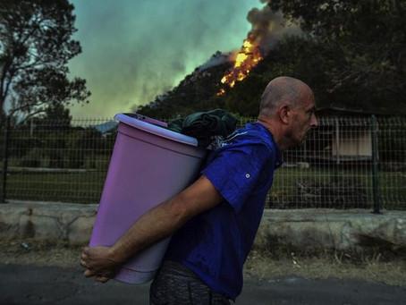 Kebakaran Besar di Turki Tidak Padam Hingga Hari ke-6, Ribuan Warga Dievakuasi