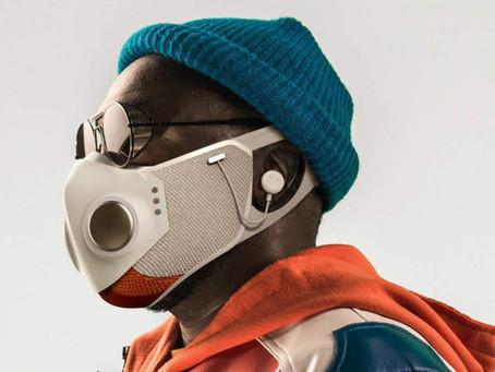 Kolaborasi Will.i.am dan Honeywell Ciptakan Masker Dengan Headphone, Blueetoth dan LED