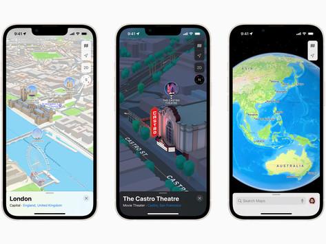 Apple Luncurkan 3D Maps Bagian dari Pembaruan iOS 15