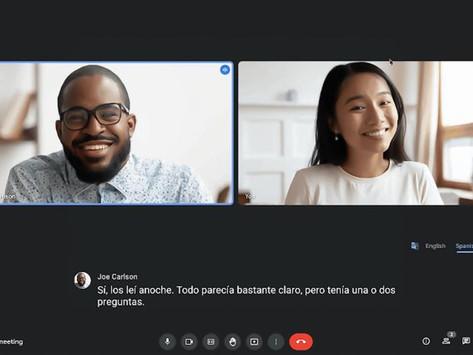 Google Meet Uji Fitur Translated Captions Untuk Meeting Beda Bahasa