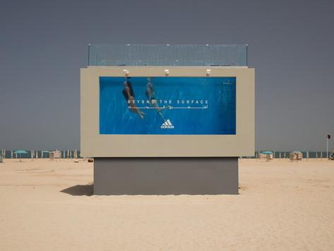 Adidas Luncurkan Kolam Renang Billboard Untuk Bantu Wanita di Dubai
